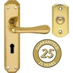 PVD Stainless Brass Door Furniture