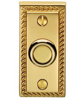Georgian Door Bell Push