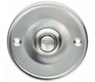 Round Door Bell Push