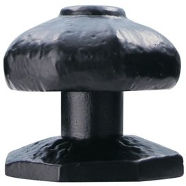 Ludlow Foundries Black Iron Centre Door Knob