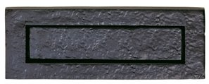 Ludlow Foundries Black Iron Traditional Letter Plate