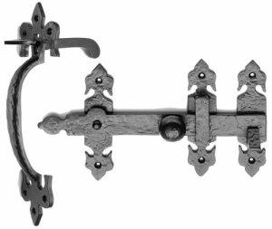 Ludlow Foundries Black Iron Suffolk Latch