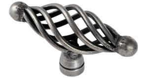 Steel Cage Oval Cabinet Knobs