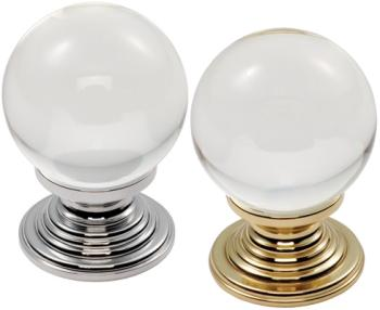 Crystal Ball Cupboard Knobs