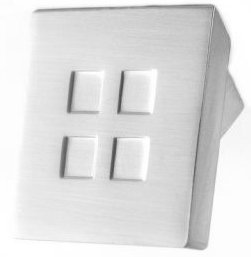 Quadra Cupboard Knobs