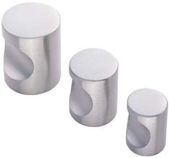Stainless Steel Cylindrical Cupboard Knobs