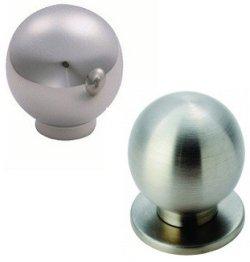 Stainless Steel Spherical Cupboard Knobs