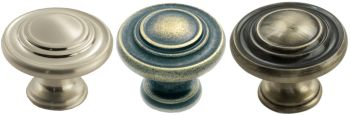 Traditional Pattern Cupboard Knobs
