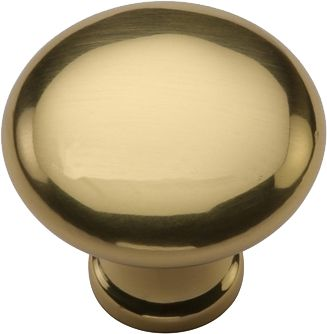 Heritage Brass Mushroom Cabinet Knob