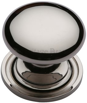 polished nickel victorian cupboard knob world of brass