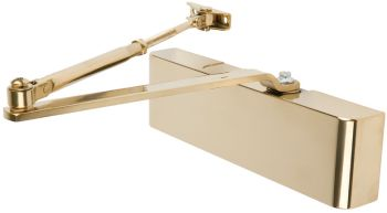 Brass Door Closer Fixed Size 3