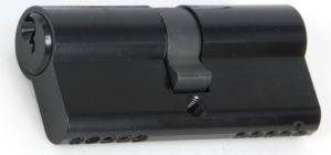 Black 5 pin Euro Double Cylinder