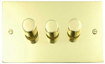 Flat Plate Dimmer Switches