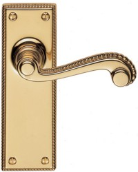 St James Suite Brass Door Handles