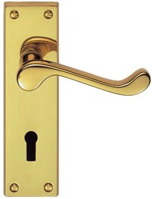 Premium Victorian Scroll Door Handles