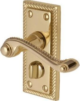 Georgian Privacy Door Handles (pair)