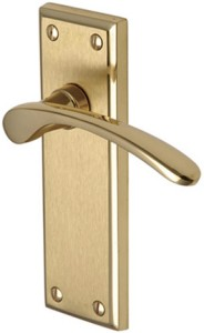 Hilton Door Handles - Mayfair Finish