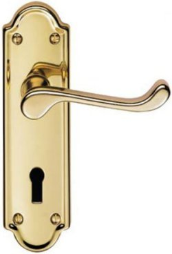Ashtead PVD Brass Door Handles
