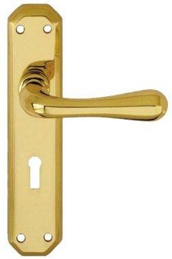 Eden PVD Brass Door Handles