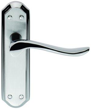 Lytham Chrome Door Handles