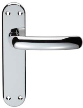 Shape Chrome Door Handles