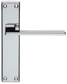 Zone chrome door handles world of brass for Door zone module