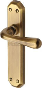 Antique Brass Charlbury Door Handles