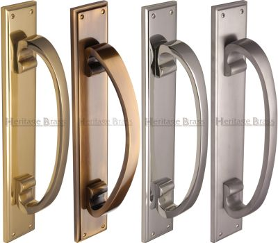 Heavy Brass Door Pull Handle