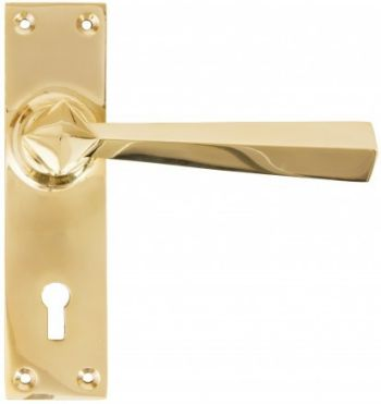 From The Anvil Straight Lever Lock Door Handles