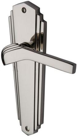Polished Nickel Waldorf Door Handles