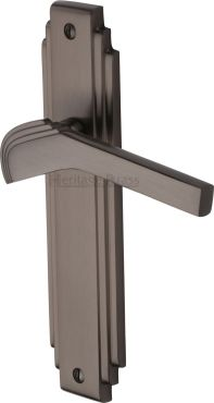 Matt Bronze Tiffany Door Handles