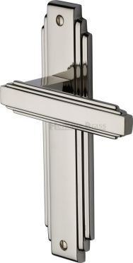 Polished Nickel Astoria Door Handles