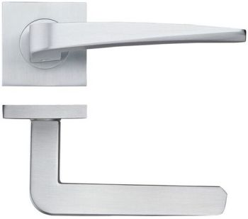 Dorado Door Handles on Square Rose