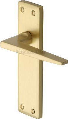 Satin Brass Kendal Door Handles