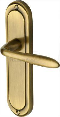 Antique Brass Henley Door Handles