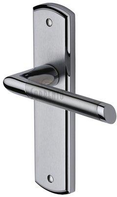 Sorrento Mercury Door Handles on Plate