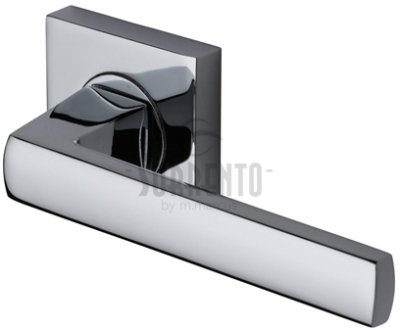 Sorrento Axis Door Handles on Square Rose