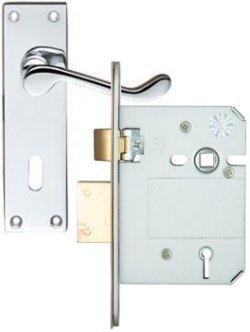 Contract Front Door Lock Handle Set