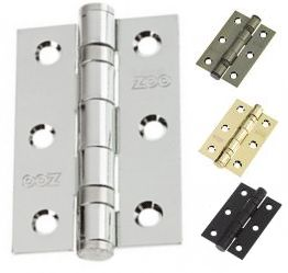 Plain Ball Bearing Hinges (pair)
