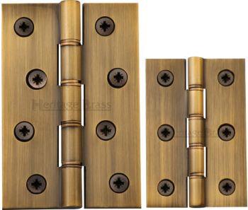 DPBW Antique Brass Hinges (pair)