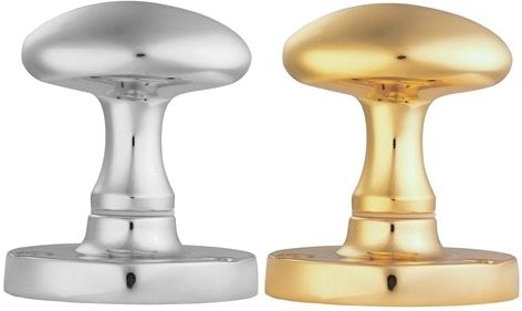 Oval Door Knobs (pair)