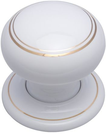 Gold Line Porcelain Door Knobs