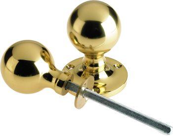 Brass Ball Rim Knobs