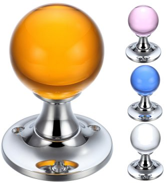 Fulton & Bray Glass Ball Door Knobs
