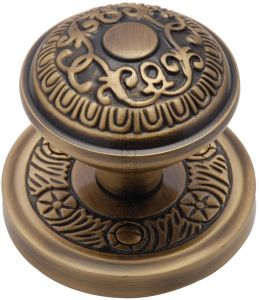 Antique Brass Aydon Door Knobs