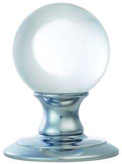 Ice Clear Crystal Ball Door Knobs