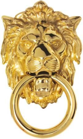 Georgian Lion Head Door Knockers