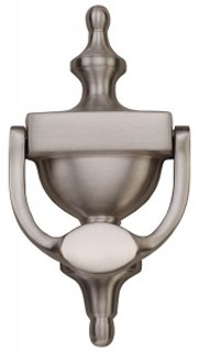 Satin Nickel Urn Door Knocker