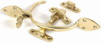 Brass Suffolk Latch Set