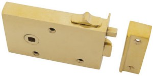 Brass Rim Latch